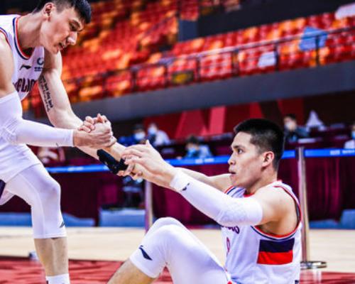 篮板创赛季新高!陈盈骏全场得到14分11篮板